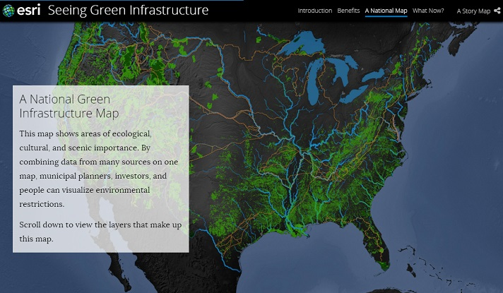 Esri Story Map Cascade - Create a Beautiful Scrolling Interactive