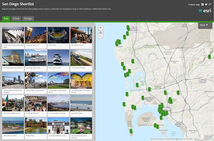 Story Map Arcgis Esri Story Map Shortlist   Present a Curated Set of Places