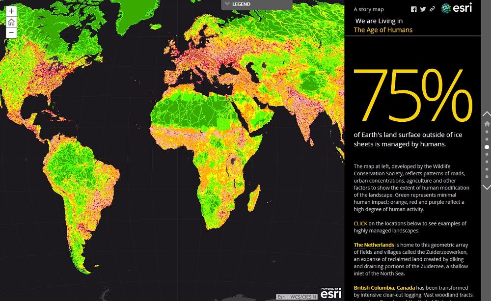 Esri Story Map Journal Create A Rich Multimedia Narrative - Create-us-map-color-coded