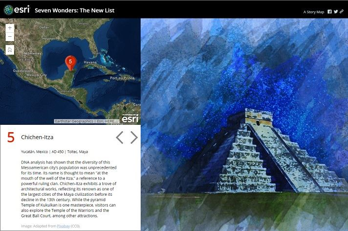 Story Map Tour – Story Map Template